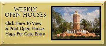 WEEKLY OPEN HOUSES - Click Here To View & Print Open House Maps For Gate Entry